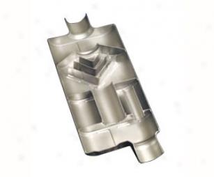 Flowmaster Mufflers 50 Series Delta Flow 942550 Center Inlet / Center Outlet