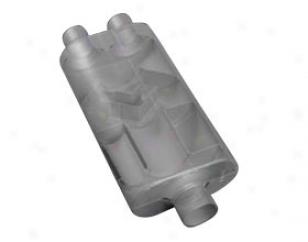 Flowmaster Mufflers 50 Series Hd 953558 Offset Entrance / Opposite Side Offset Outlet