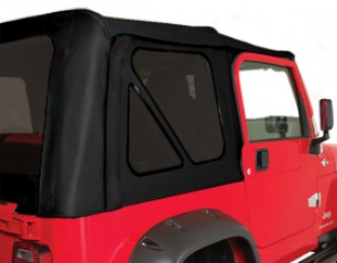 Ford Bronco Jeep Accessories - Rampage Complete Jeep Soft Top