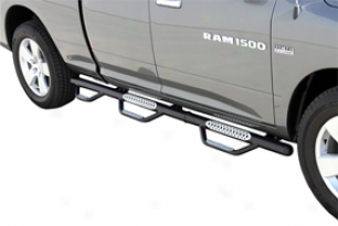 Ford F-250 Nerf Bars & Running Boards - Go Rhino Dominator Iii Wheel-to-wheel Ne
