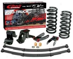 Gmc Lowering Kits - Eibach Pro-truck Lowering Kit