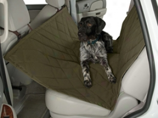 Heritage Rear Seat Protector - Dog Car Seat Hammock & Rear Seat Protector
