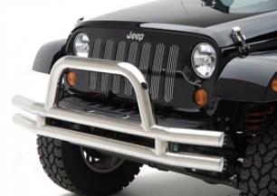 Jeep Wrangler Bumpers - Smittybilt Tubular Jeep Bumpers