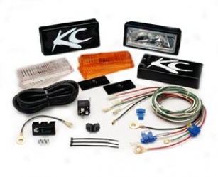 """kc Hilites 26 Series Lights System 517 2"""" X 6"""" Backup/flood System"""