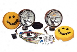 """kc Hilites Daylighter Off-road Lights System 232 6"""" Round 100w Daylighter Off-road Order"""