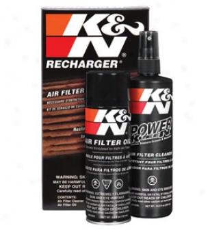 K&n Filter Recharger Kit 99-5000 Aerosol K&n Air Filter Recharger Kit