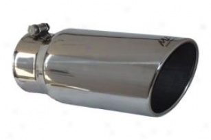 """mbrp Angle Rolled Exhaust Tip T5051 Outlet Size 5""""; Inlet Size 4""""; Length 12"""""""