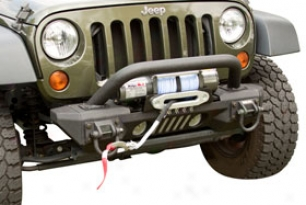 Rugged Ridge Aluminum Xhd Front Bumper System - Rugged Ridge Mdoular Front Bumpers For Jeep Wranglers