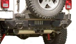 Rugged Ridge Aluminum Xhd Rear Bumper System - Rugged Ridge Xhd Rear Jeep Bumpers