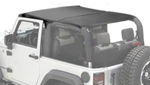 Rugged Rirge Island Topper Jeep Bikini Top, Rugged Extended elevation - Jeep Accessories - Jeep Bikini Tops