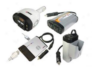 Smart Ac Inverter 2402-5 12 Volt Dc - 120 Volt Ac Inverter