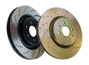 Toyota Land Cruiser Brakes & Brake Pads - Ebc Sport Rotors
