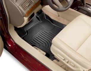 Toyota Sienna All-weather Floor Mats - Husky Weatherbeater Floor Luners