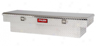 Toyota Tacoma Barter Toolboxes - Dee Zee Red Label Single-lid Crossover Toolbox