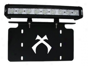 Apparition X License Plate Light Bar Bracket Xil-licenseplp910 License Plate Bracket Attending Led Litht Bar