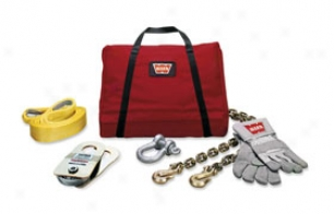 Warn Light-duty Winch Accessory Kit - Warn Winch Kit For Light Duty Winching
