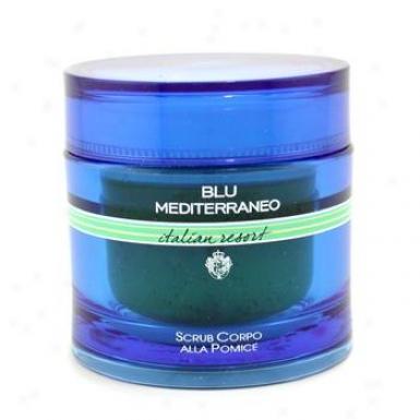 Acqua Di Parma Blu Mediterranean Italian Resort Pumice Body Scrub 230g/8.1oz