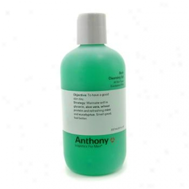 Anthony Logistics For Men Body Cleansing Gel - Eucalyptus/ Mint 237ml/8oz