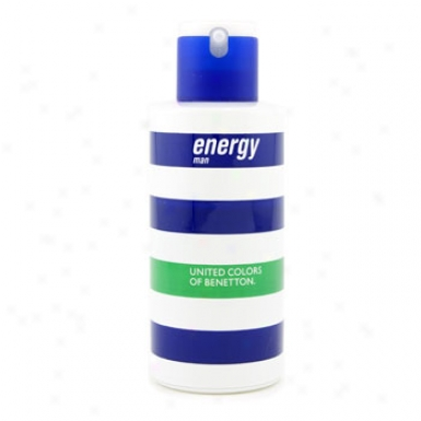 Benetton Energy Eau De Toilette Spray 100ml/3.3iz