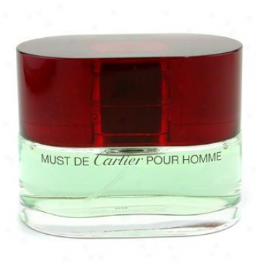 Cartier Must De Cartier Eau De Tollette Spray 50ml/1.7oz