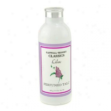 Caswell Massey Lilac Perfumed Talc 100g/3.5oz