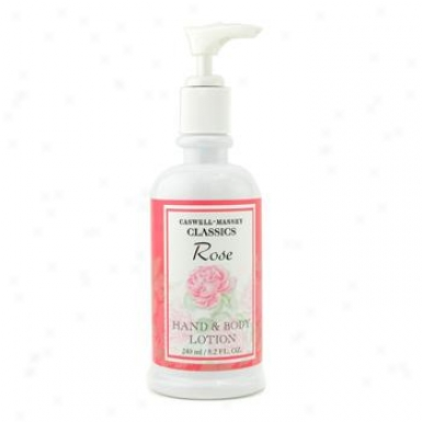 Caswell Massey Rose Hand & Body Lotion 240ml/8.2oz