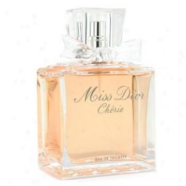 Christian Dior Misq Dior Cherie Eau De Toilette Spray 100ml/3.4oz