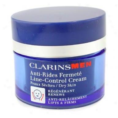 Clarins Men Line-control Cream ( Dry Skin ) 50ml/1.7oz