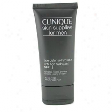 Clinique Skin Supplies For Men: Age Defense Hydrator Spf 15 50ml/1.7oz