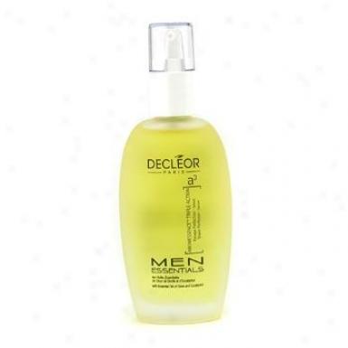 Decleor Men Essentials Aromessence Triple Action Shave Perfector Serum ( Salon Size ) 50ml/1.69oz