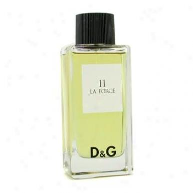 Dolce & Gabbana D&g Anthology 11 La Force Eau De Toilette Spray 100ml/3.3oz