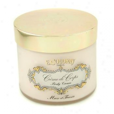 E Coudray Musc & Freesia Perfumed Body Cream 250ml/8.4oz