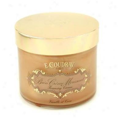 E Coudray Vanilla & Coco Bath And Shower Foaming Cream 250ml/8.4oz