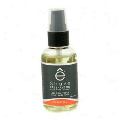 Eshave Pre Shave Oil - Almond 60g/2oz