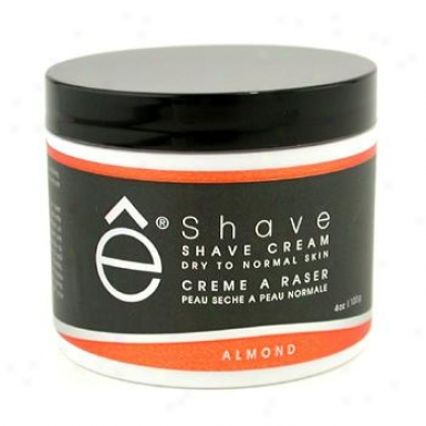 Eshave Shave Cream -A lmond 120g/4oz