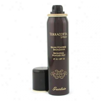 Guerlain Terrcaotta Bronzing Powder Mist Spf10 - # 02 Medium 75ml/2.5oz