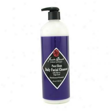 Jack Blacj Pure Clean Diurnal Facial Cleanser 473ml/16oz