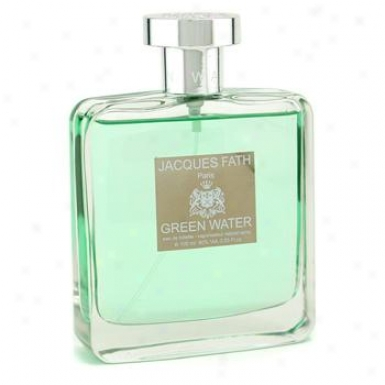 Jacques Fath Green Water Eau De Toilett3 Spray 100ml/3.4oz