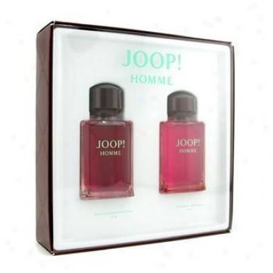 Joop Homme Coffret: Eau De Toilette Spary 75ml/ 2.5oz + After Shave Splash 75ml/2.5oz 2pcs