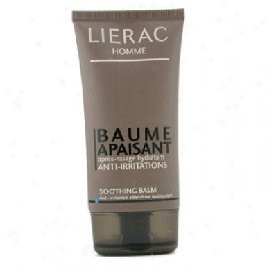 Lierac Homme Baume Apaisant Anti-irritations Soothing Balm 75ml