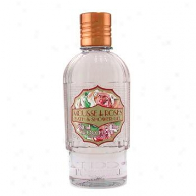 L'occitane Eau Des 4 Reines Rose Bath & Shower Gel 250ml/8.4oz