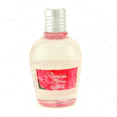 L'occitane Peony ( Pivoine ) Flora Shower Gel 250ml/8.4oz