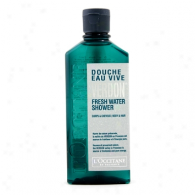 L'occitane Verdon Fresh Water Shower Gel 150ml/5oz