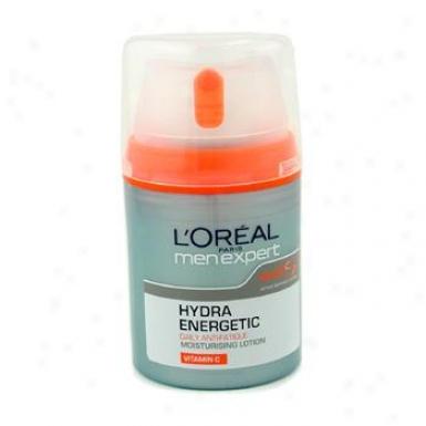 L'oreal Men Expert Hydra Energetic Daily Anti-fatiuge Moisturising Lotion 50ml/1.6oz