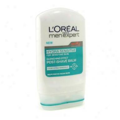L'oreal Men Expert Hydra Sensitive Post Shave Balm ( For Sensitive Skin ) 100ml/3.3oz
