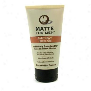 Matte For Men Antioxidantt Shave Gel 73ml/2.5oz