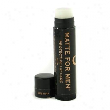 Matte For Men Intense Mint Protective Lip Care With Spf 15 4.5ml/0.15oz