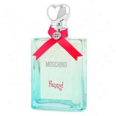 Moschino Funny Eau De Toilettte Spray 100ml/3.4oz