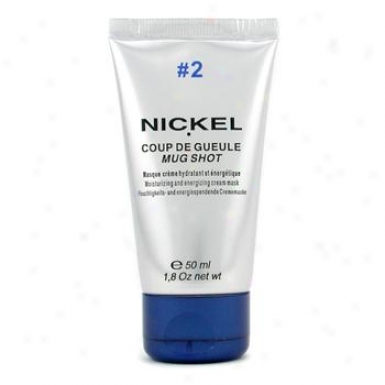 Nickel Mug Shot #2 Moisturizing & Energizing Crean Mask Nk2204802 50ml/1.8oz