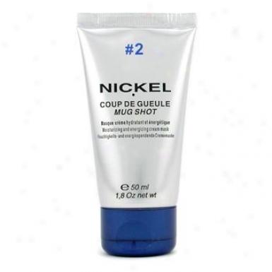 Nickel Mug Shot #2 Moisturizing & Energizing Crean Mask Nk2204802 50ml/1.8oz